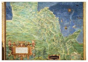 Cartina storica del Cilento